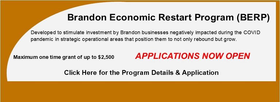 Brandon Economic Restart Program